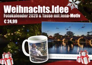 Weihnachtsgeschenk Idee Fotokalender und Tasse
