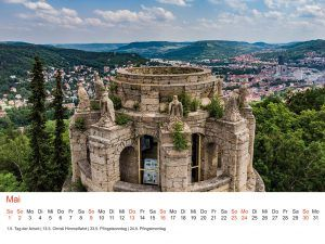 Jena Tischkalender 2021 DIN A5