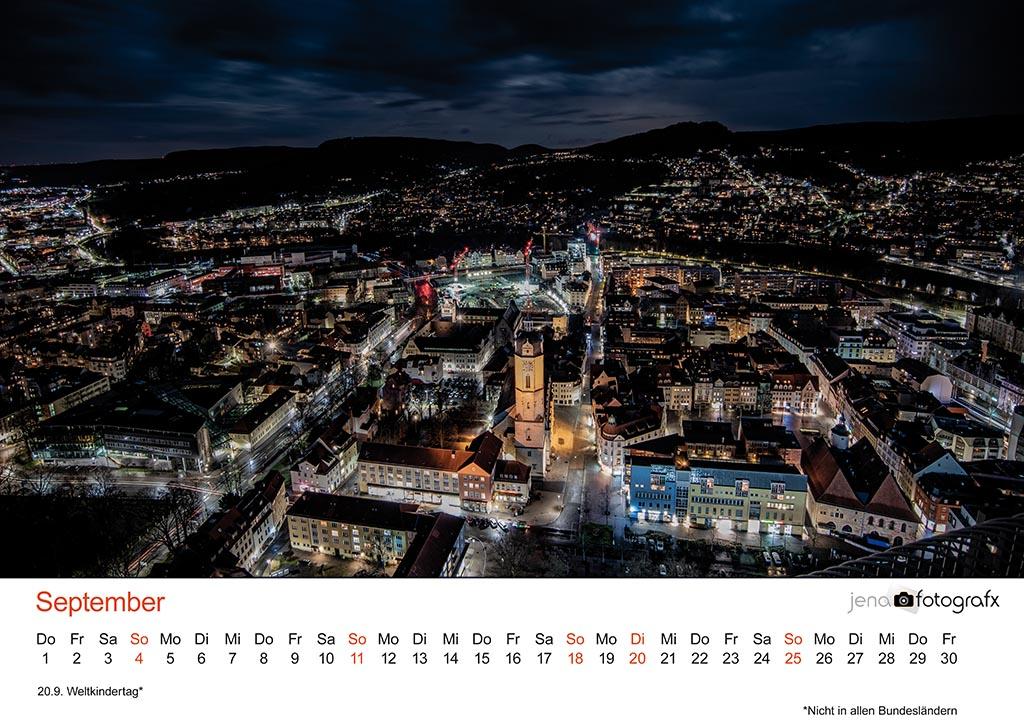 Fotokalender Jena 2022 - Jenaer SIchtweisen