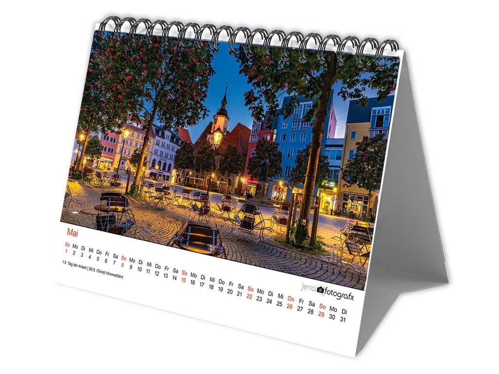Jena Fotokalender 2021 als Tischkalender zum Aufstellen
