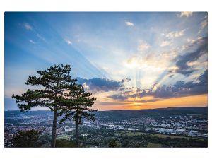 Fotoleinwand Sunset Jenzig