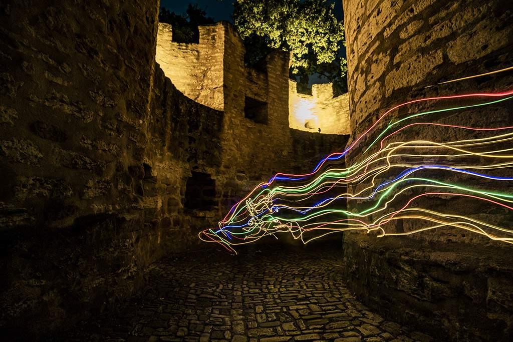 Nachtfotografie & Lichtmalerei in Burgau – kreativ im Juni