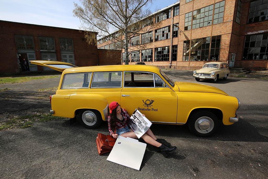 Fotoshooting für den Wartbugkalender 2022