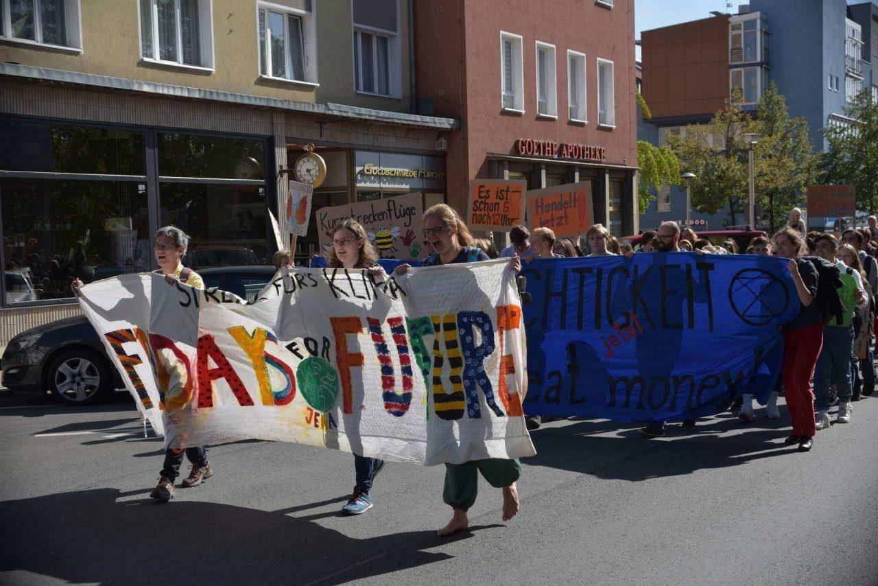 Fridays for Future Jena: Demo am Freitag, 04.06.2021