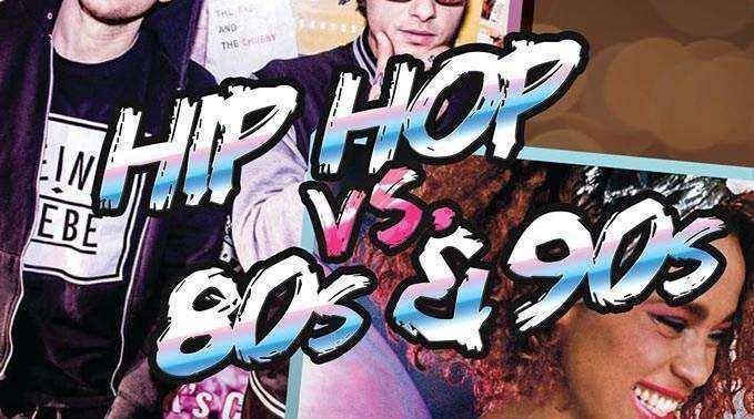 MUSS VERSCHOBEN WERDEN!!! 80s & 90s vs. Hip Hop im Rosenkeller Jena am 25.04.2020