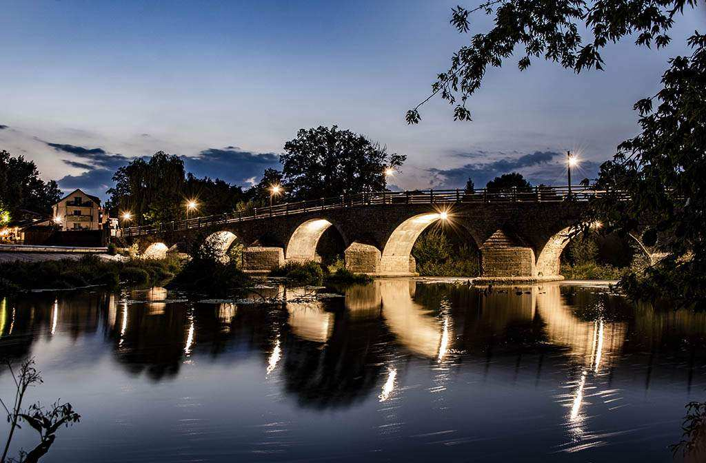 Burgau – Altstadt, Binderburg, Wehr und Brücke