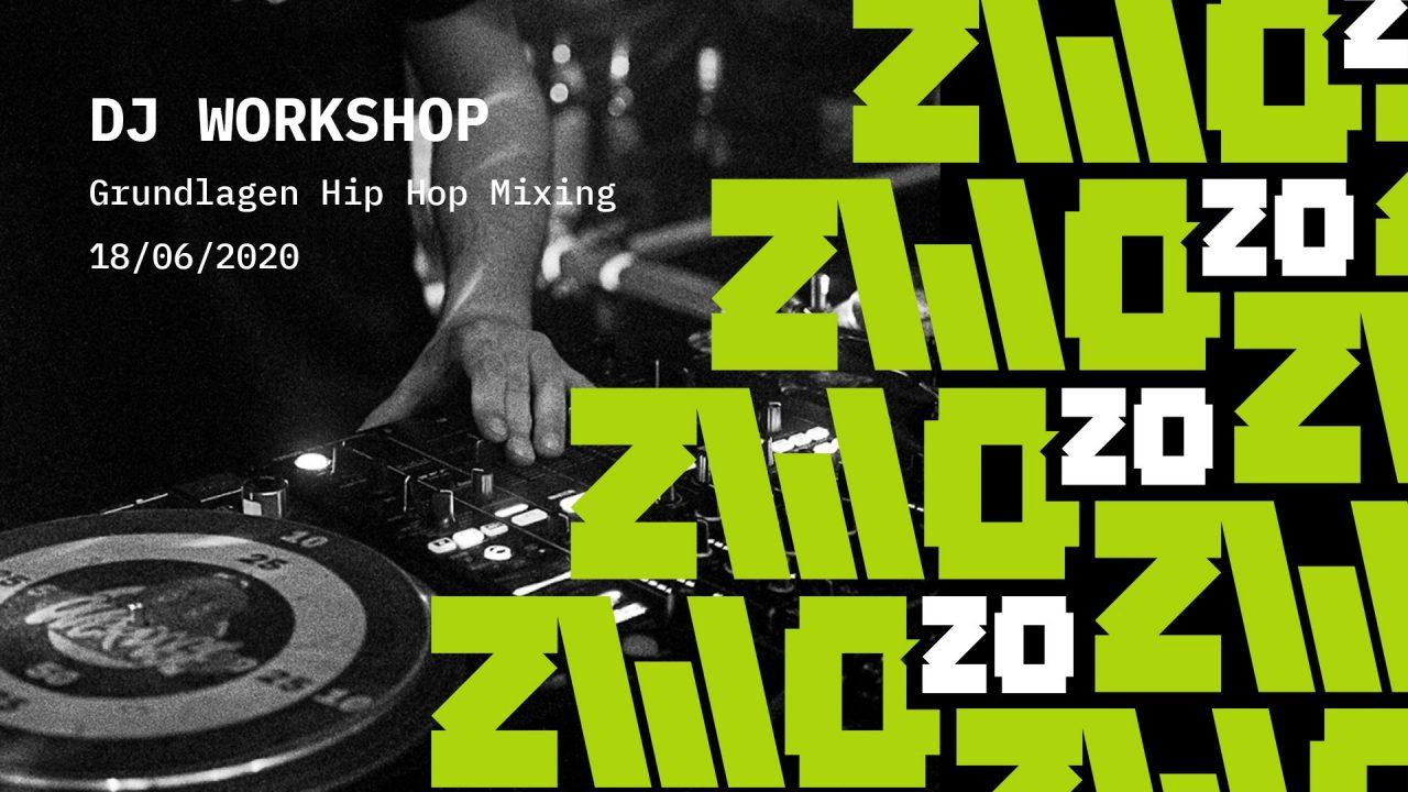 ZWO20 • DJ Workshop • Hip Hop // Online Stram