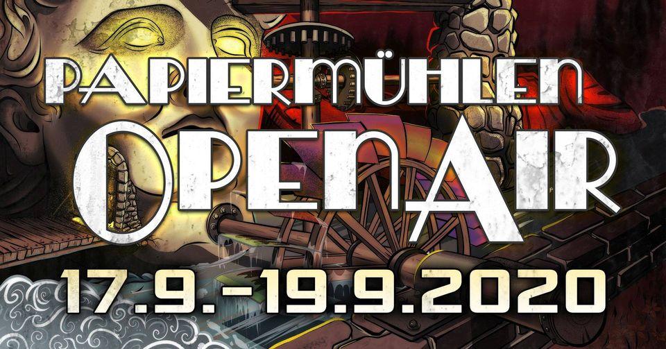 Papiermühlen Open Air – Jena 17. bis 19. September 2020