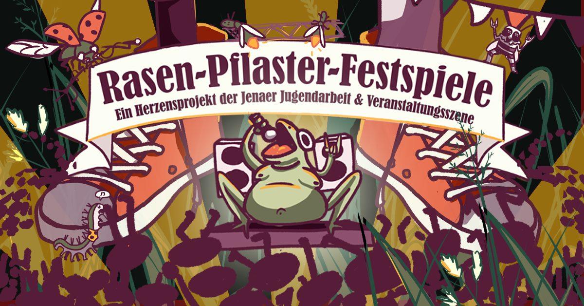 Rasen-Pflaster-Festspiele Paradies-Cafe 22. bis 24. JULI