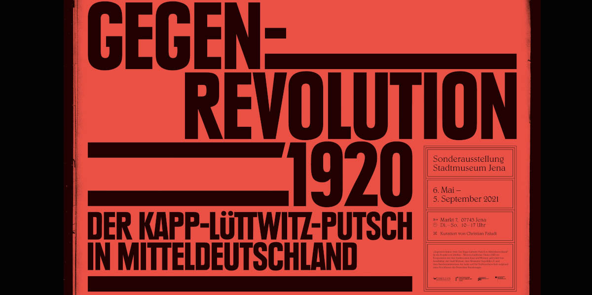 Ausstellung im Stadtmuseum Jena: Gegenrevolution 1920