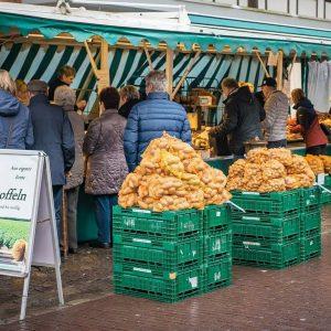 Dienstag, Donnerstag, Freitag und Samstag wieder Wochenmarkt in Jena (Fotografik, Pixabay symbolisch)
