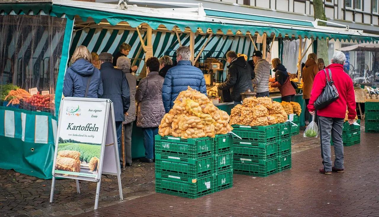 Jenaer Wochenmarkt