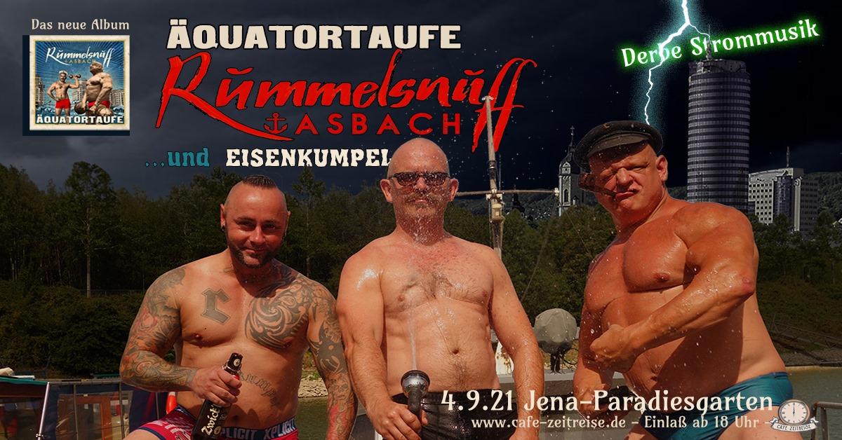 Rummelsnuff LIVE im Paradiesgarten am 04.September