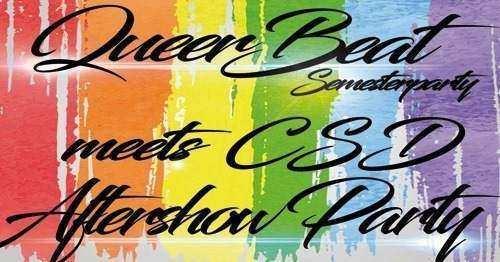 Queer Beat Semesterparty – CSD Aftershowparty am 11.07. im Rosenkeller Jena