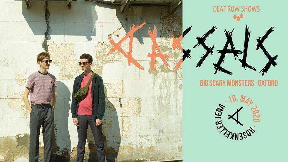 Cassels (UK) · Live in Jena am 16.05.2020 im Rosenkeller
