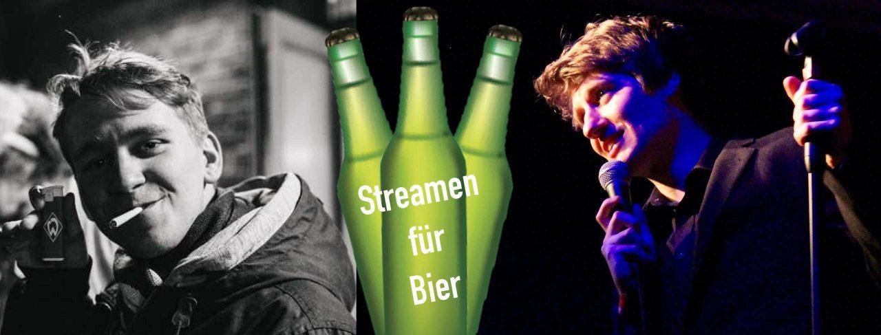 Streamen für Bier – Jena // Rosenkeller Online-Event