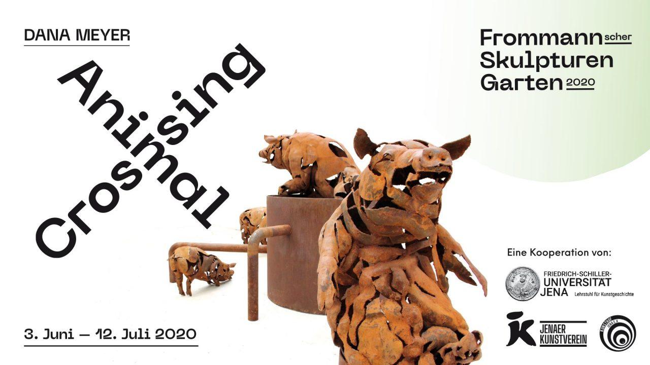 Animal Crossing, Dana Meyer, Frommannscher Skulpturengarten 2020 – Jenaer Kunstverein und Kunsthof Jena