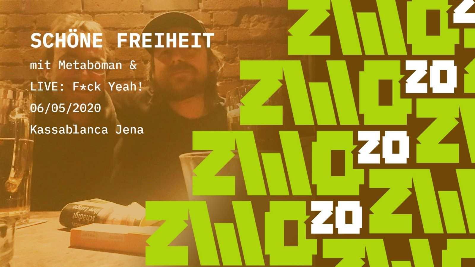 Schöne Freiheit im Stream auf www.ZWO20.live