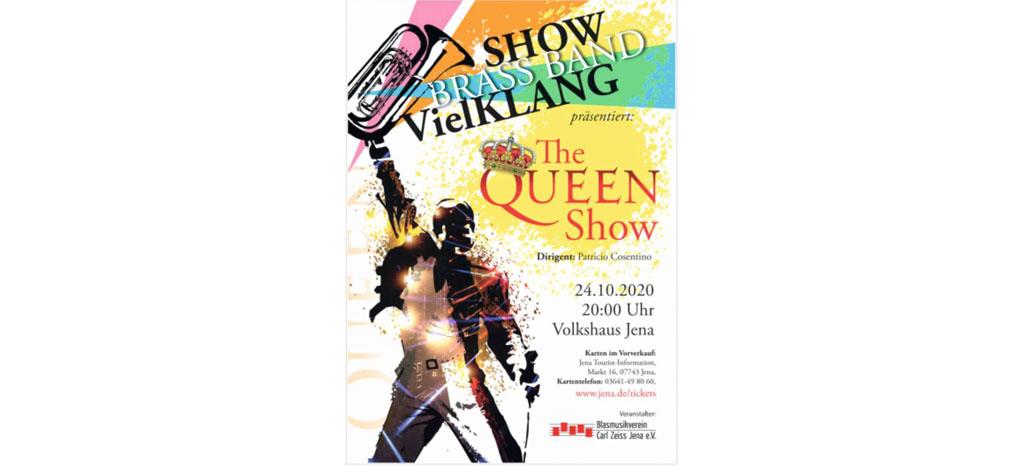 ABGESAGT !!! The QUEEN Show am 24.10.2020 im Volkshaus Jena
