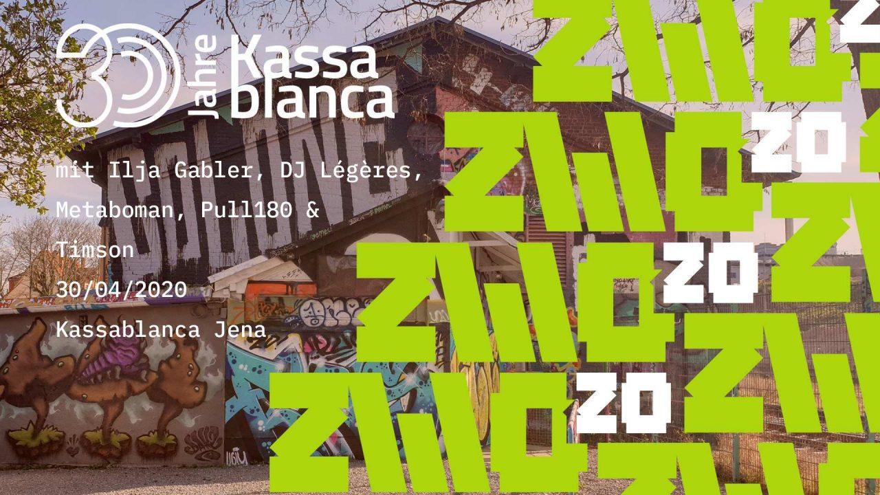 ZWO20 • 30 Jahre Kassablanca // Online-Event