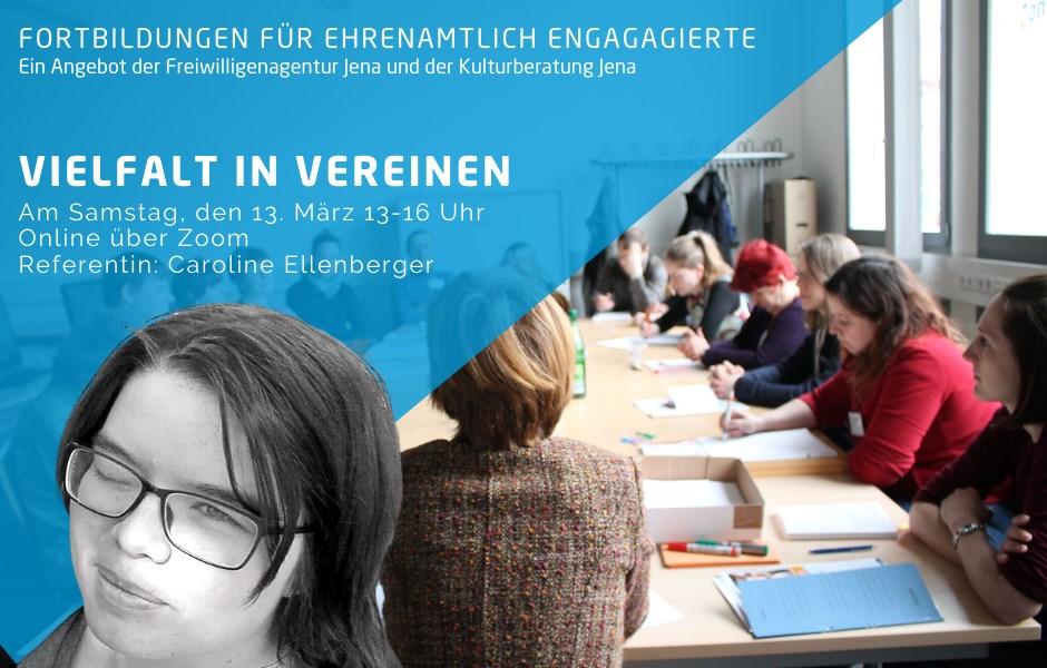 Weiterbildung: Vielfalt in Vereinen / Online-Veranstaltung