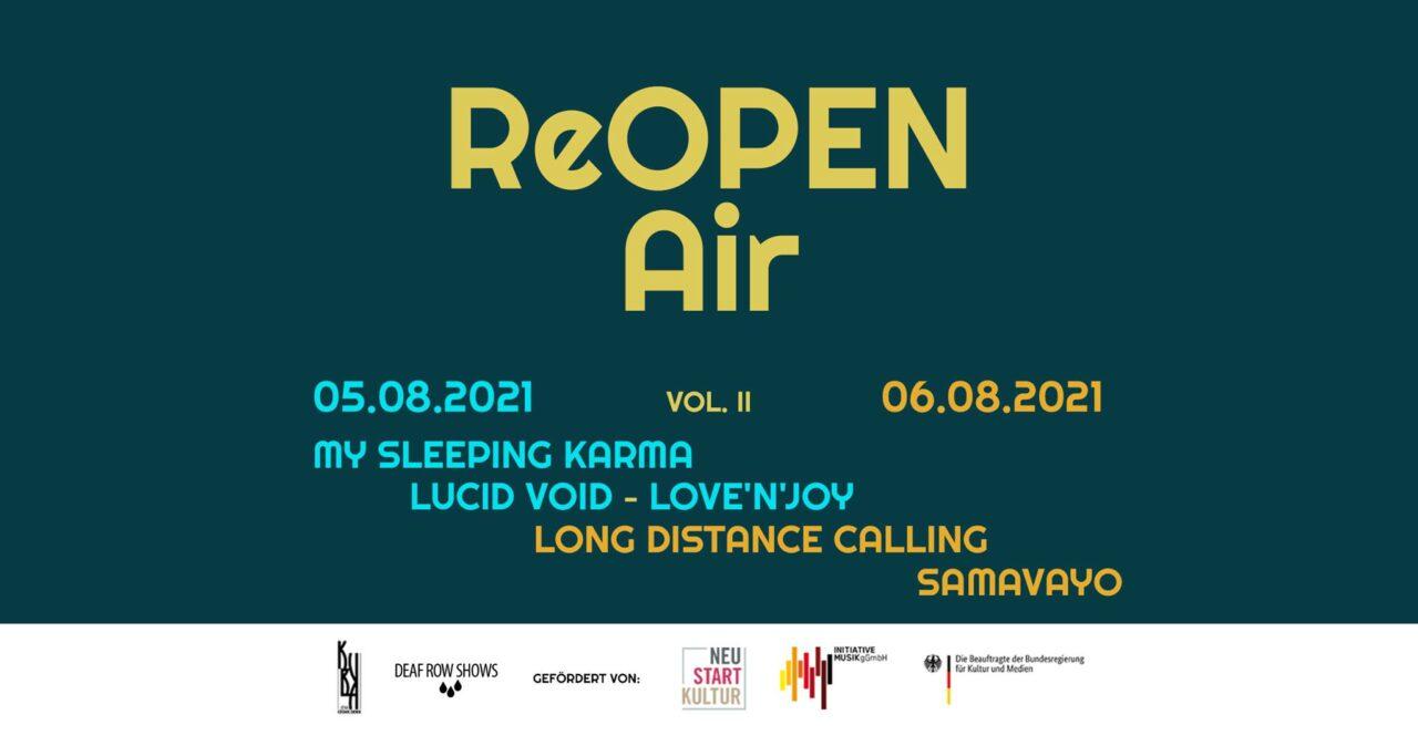 ReOPEN Air Vol.II Long Distance Calling, My Sleeping Karma