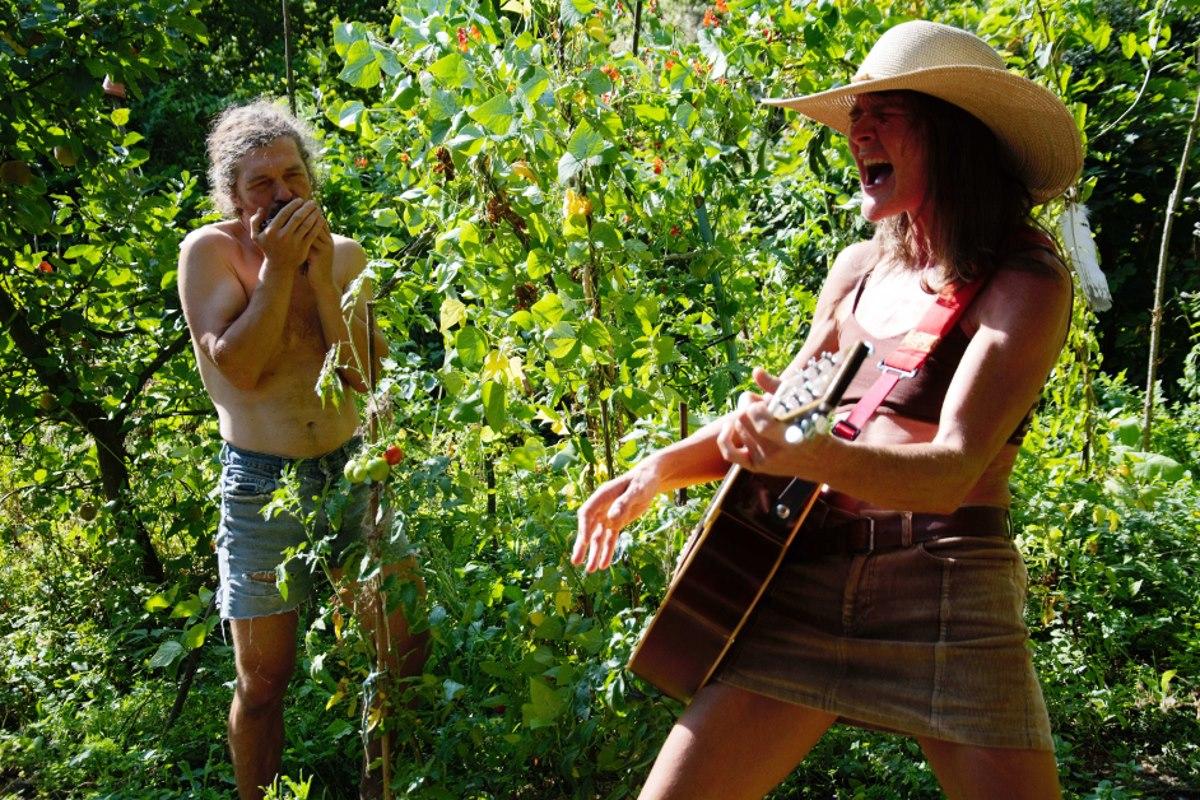 LIVE Blue Undergrowth im Paradiesgarten