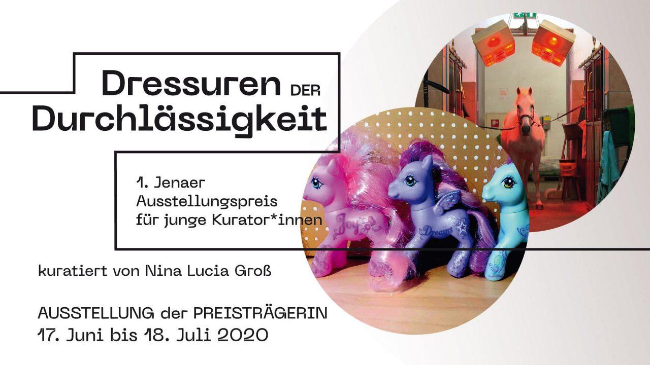 Dressuren der Durchlässigkeit, Kuratorin: Nina Lucia Gross – Jenaer Kunstverein