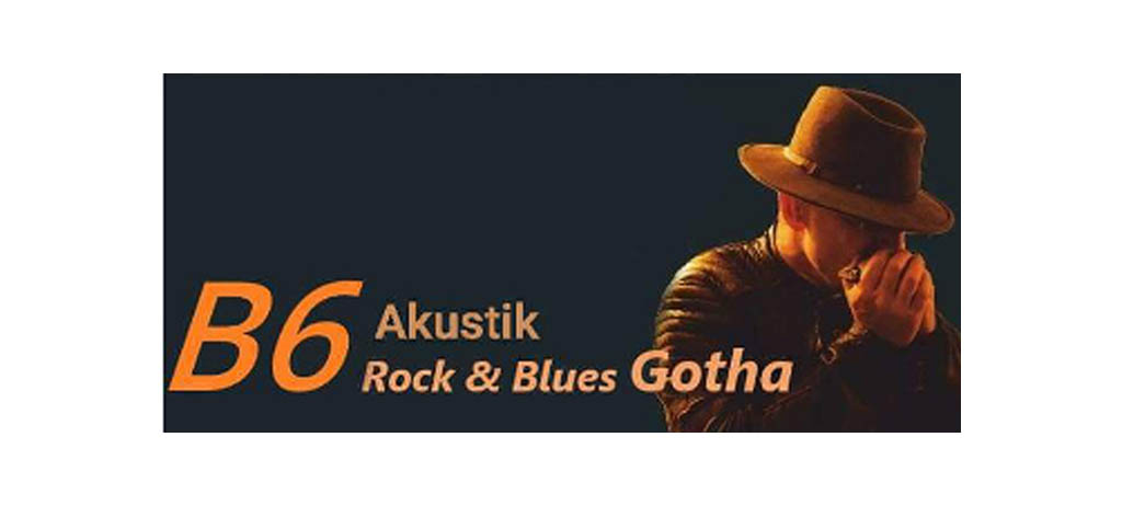 LIVE B6 Akustik Rock and Blues im Paradiesgarten am Samstag