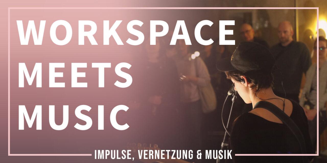 Workspace Meets Music – Workshop: Social Media für Kreative