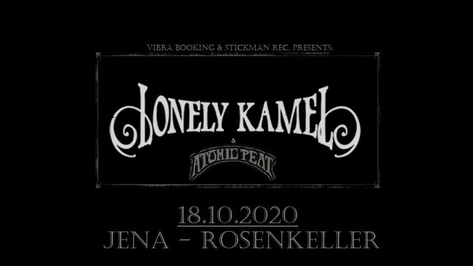 Lonely Kamel • 24.10.2021 LIVE im Rosenkeller Jena