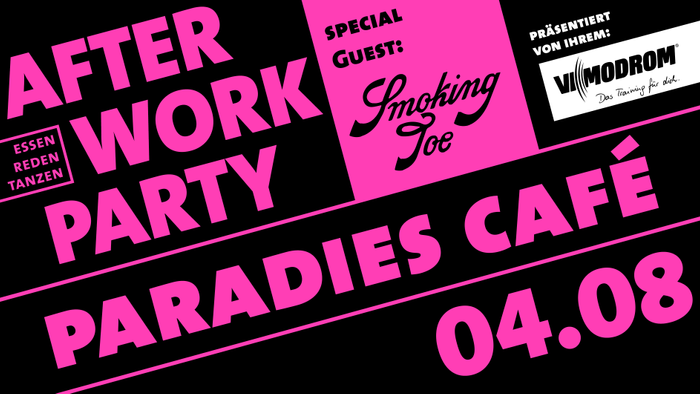 28. After Work Party Jena im Paradies-Cafe am 04.08.2021