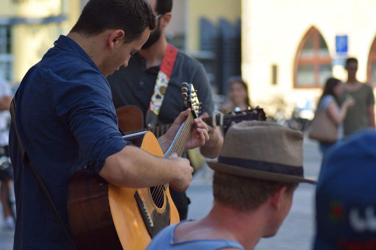 Straßenpflaster-Festspiele in Jena