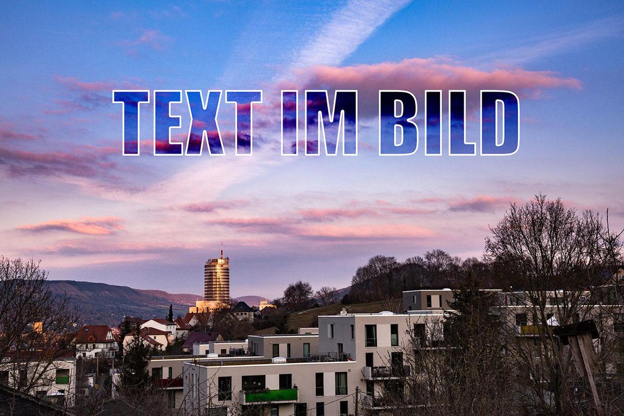 Workshop Bildbearbeitung Text und Grafik im Bild