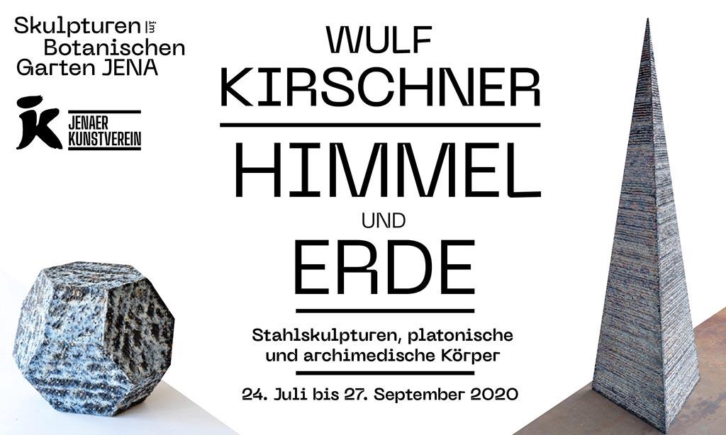 Skulpturen im Botanischen Garten Jena – 24. Juli – 27. September 2020