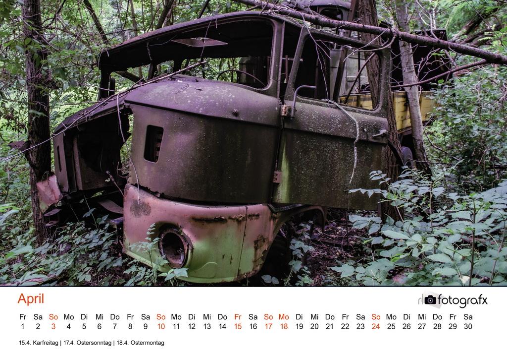 Lostplace Kalender 2022